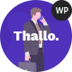 Thallo – Consulting & Finance WordPress Theme - ThemeForest Item for Sale