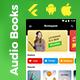 Audio Book Android App + Audio Book iOS App Template| Online Book App | Bookspeak | FLUTTER 2 - CodeCanyon Item for Sale