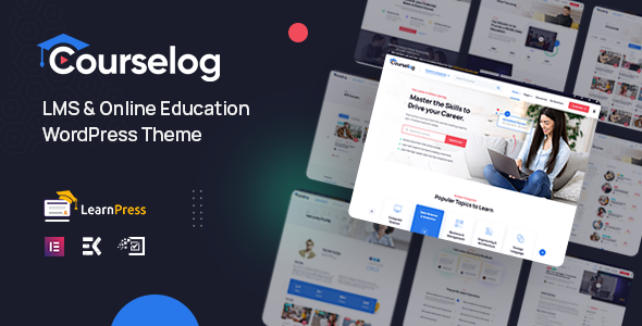 Courselog – Education WordPress Theme