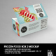 Big Frozen Food Box Packaging Mockup - GraphicRiver Item for Sale