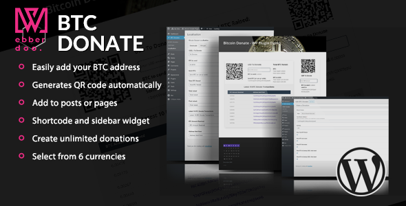 Bitcoin Donate - A WordPress Plugin