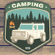 Camper Patches - GraphicRiver Item for Sale