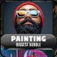 Painting Biggest Bundle - 10 Photoshop Actions - GraphicRiver Item for Sale