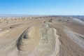 aerial view of wind erosion physiognomy landscape - PhotoDune Item for Sale
