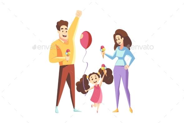 Fatherhood Motherhood Family Holiday Concept