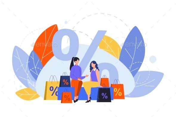 Shopping Purchasing Customer Sale Discount