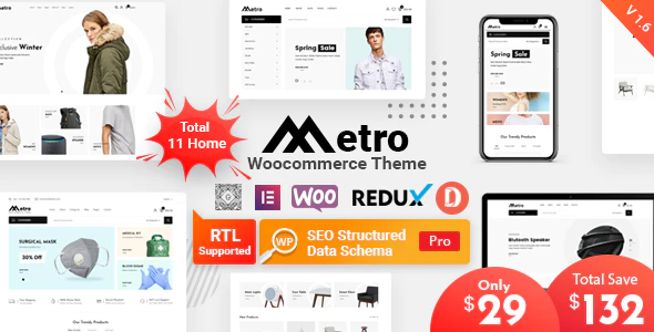 Review: Metro – Minimal WooCommerce WordPress Theme free download Review: Metro – Minimal WooCommerce WordPress Theme nulled Review: Metro – Minimal WooCommerce WordPress Theme