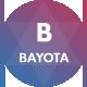 Bayota - Responsive Personal & Portfolio Template - ThemeForest Item for Sale
