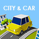 City and Car - 3DOcean Item for Sale