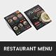 Italian Food Restaurant Menu - GraphicRiver Item for Sale