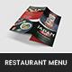 Japan Food Bar Restaurant Menu - GraphicRiver Item for Sale