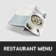 Millia Restaurant Menu - GraphicRiver Item for Sale