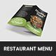 Healthy Food Restaurant Menu - GraphicRiver Item for Sale