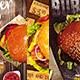 Burger Flyer Bundle - GraphicRiver Item for Sale