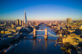 Aerial view of London and the Tower Bridge - PhotoDune Item for Sale