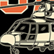 Search and Rescue Helicopter Vector Graphic - GraphicRiver Item for Sale