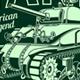 Vintage American M4 Sherman Tank Vector - GraphicRiver Item for Sale