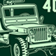 Vintage Military Jeep Vector - GraphicRiver Item for Sale