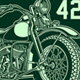 Vintage American Military Motorcycle Vector - GraphicRiver Item for Sale