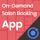 Salon, Spa Barber Appointment Booking Mobile App Template IONIC 5 - BeautyLocks - CodeCanyon Item for Sale