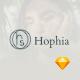 Hophia - Personal Portfolio Sketch Template - ThemeForest Item for Sale