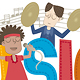Kids and Music - GraphicRiver Item for Sale