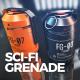 Sci-Fi Grenade - 3DOcean Item for Sale