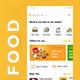 6 in 1 multi Restaurant Food Delivery App UI Kit | Hungerz - GraphicRiver Item for Sale