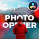 Photo Opener | For DaVinci Resolve - VideoHive Item for Sale
