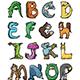 Animal Alphabet Bundle - GraphicRiver Item for Sale