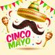 Cinco De Mayo Vector - GraphicRiver Item for Sale