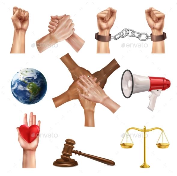 Social Justice Realistic Set