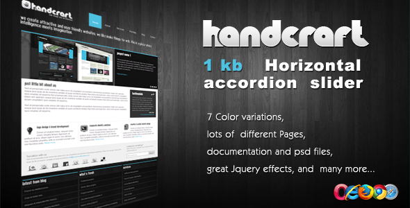Handcraft 7 in 1 - Wordpress Theme