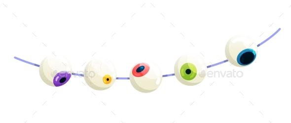 Halloween Eyeball Illustration