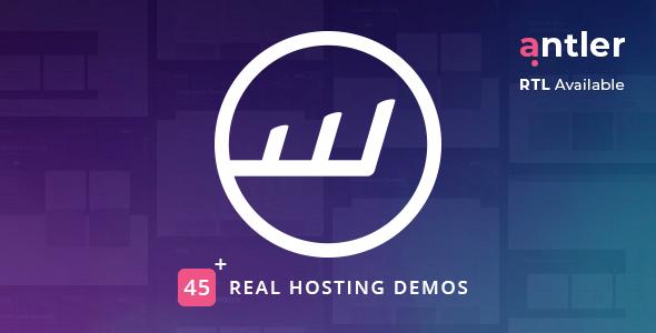 Antler – Hosting Provider & WHMCS Template
