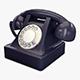 Retro Telephone v 1 - 3DOcean Item for Sale