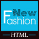 Fashion eCommerce Html Template - ThemeForest Item for Sale