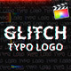 Glitch Typo Logo | For Final Cut & Apple Motion - VideoHive Item for Sale