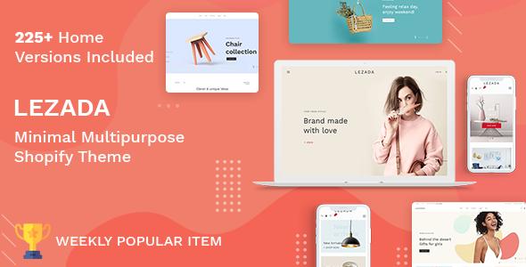 Lezada – Multipurpose Shopify Theme