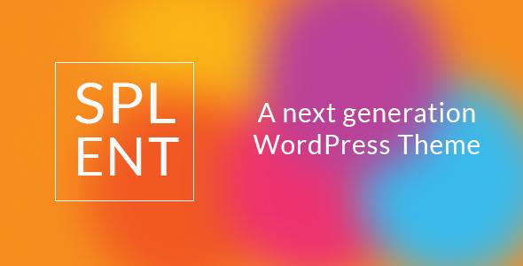 Splent | Responsive Multi-Purpose WordPress Theme, Gobase64