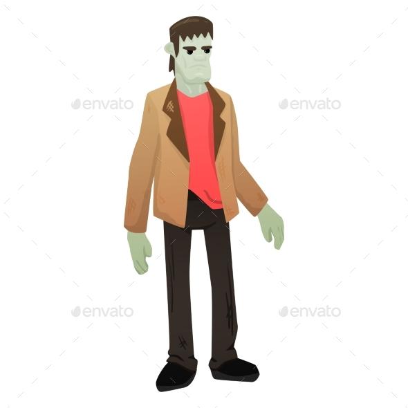 Halloween Zombie Illustration