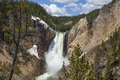 Yellowstone Falls in Yellowstone National Park on a sunny afternoon - PhotoDune Item for Sale