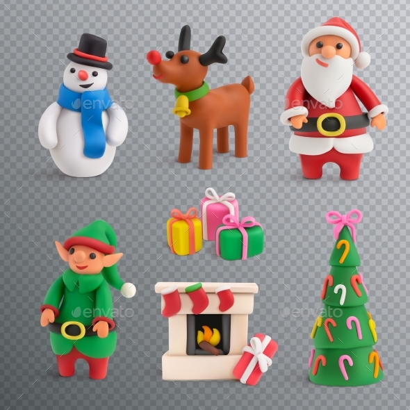Christmas Transparent Set