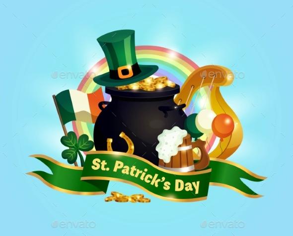 Saint Patricks Day Composition