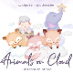 Animals on Cloud - GraphicRiver Item for Sale