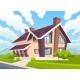 Twostorey Country House - GraphicRiver Item for Sale