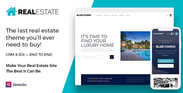 Real Estate 7 WordPress, Gobase64
