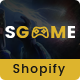 SGame - Responsive Accessories, Games Shopify Theme - ThemeForest Item for Sale
