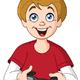 Kid Playing Video Games - GraphicRiver Item for Sale