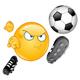 Soccer Emoticon - GraphicRiver Item for Sale